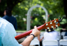 lead worship for a wedding