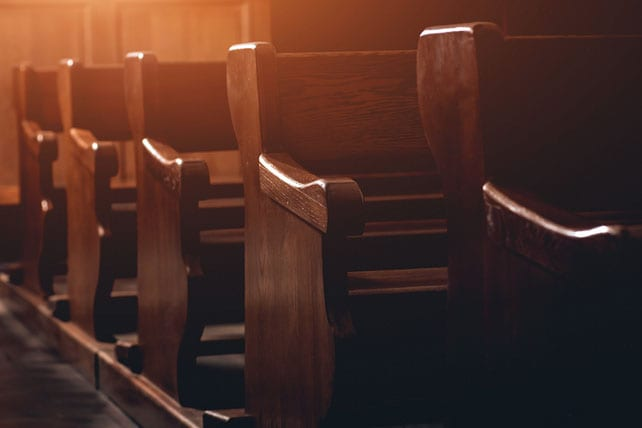 signs of a dying church