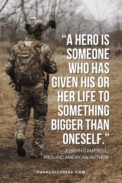 memorial day quotes A hero is someone who has given his or her life to something bigger than oneself