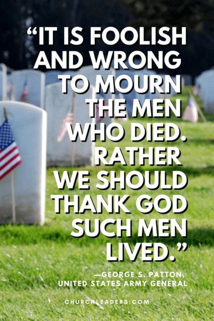 memorial day quotes george s patton