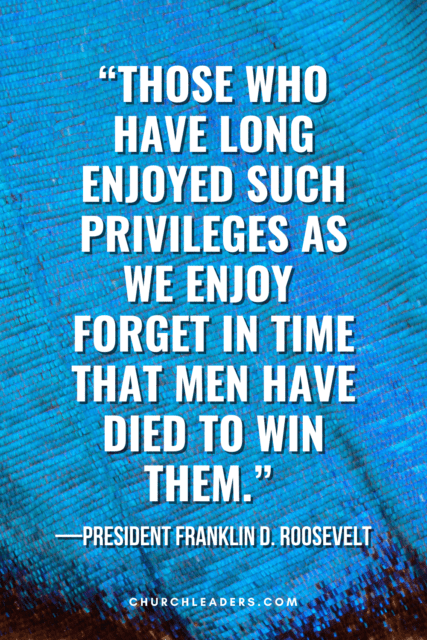 memorial day quotes franklin d roosevelt