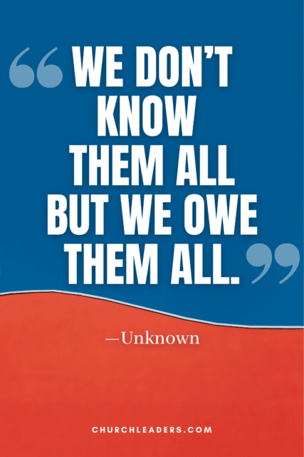 memorial day quotes we dont know them all but we owe them all