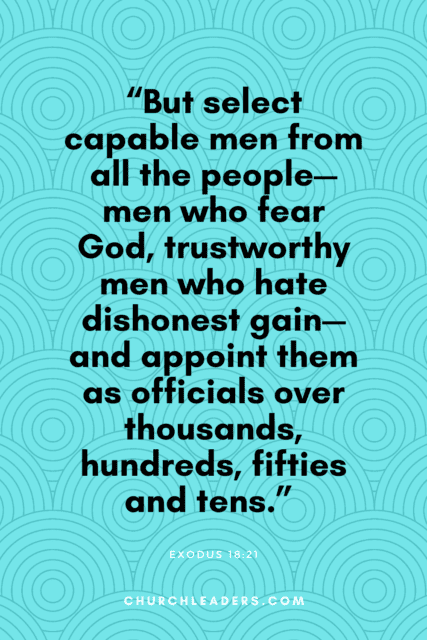 bible verses about leadership