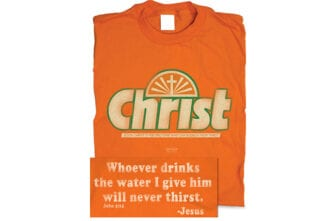 christian t-shirts from youth group christ instead of crush