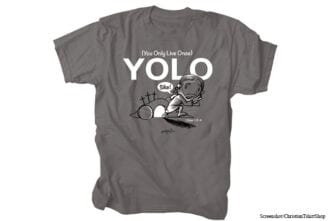 christian t-shirts from youth group jesus yolo