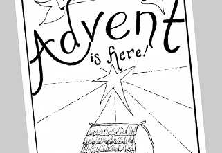 Free Coloring Book: Advent