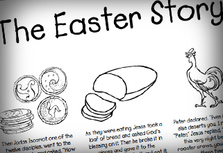 Free Coloring Pages Of Easter Story Coloring Page