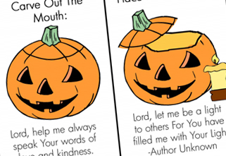 photograph about Pumpkin Prayer Printable identified as Cost-free Pumpkin Prayer Obtain - Extended Place