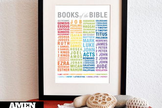 image relating to Books of the Bible Printable named No cost Printable: \