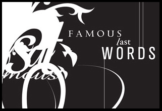 Free Sermon Series Package: Famous Last Words