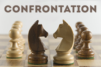 how to handle confrontation in ministry
