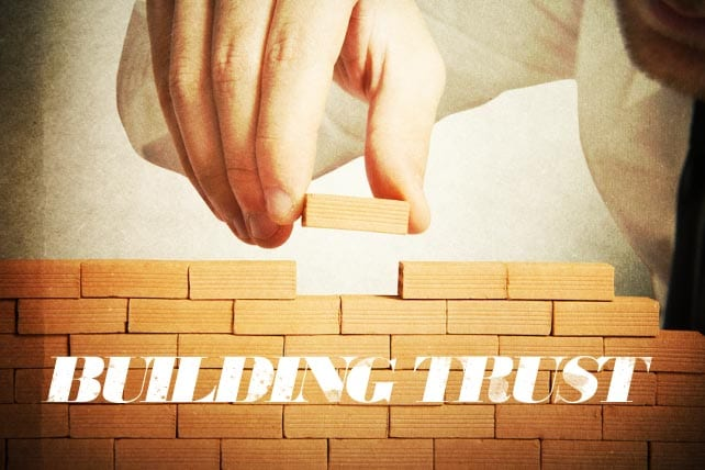 """Building trust with volunteers is a big part of your job because if you're a church or ministry leader, chances are that """"volunteer coordinator"""" is a part of your job description."""